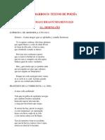TEXTOS DE POESIA BARROCa
