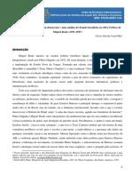 DA COSTA FILHO, Cícero João. Do Feixe à Pena, Um 'Fascista Democrata' Uma Análise Do Estado Brasileiro Na Obra Política de Migu