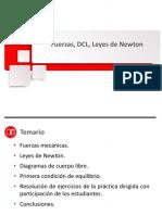 02 Diapositivas de Leyes de Newton y DCL huber-1