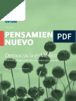LA DEMOCRACIA EN MEXICO PENSAMIENTO NUEVO