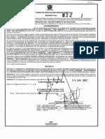 Decreto No. 832 - 2017