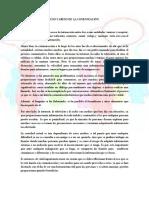 USO Y ABUSO DE  LA COMUNICACIÓN