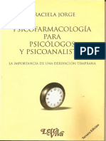 Psicofarmacologia Para Psicologos y Psicoanalistas Graciela Jorge