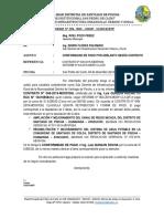 INFORME-N°-400 -2019 CONFORMIDAD LIQUIDACION QUIQUIN