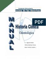 MANUAL DE HISTORIA CLÍNICA