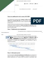 ISOwin_ Guía fácil de implantación y certificación de la norma ISO 9001