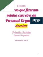 Ebook_ Os Livros que Fizeram Minha Carreira de Personal Organizer Decolar - Priscila Saboia