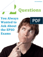 72 Questions About EPSO EXAMS Arboreus eBook