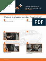 Comment Remplacer Un Étrier de Frein Avant Sur Une Ford Focus II