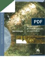 Analogues Archeologiques Et Corrosion