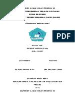 Form Cover Laporan Ujian Kmb