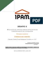 1GM Ead _CC _ Desafio 3 _ Claudia Coutinho _ 7477 junho18