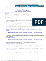 Aná. Psicológica v.23 n.2 Lisboa Abr. 2005