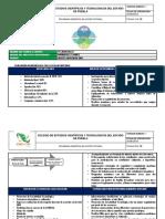 PLAN DE ACCIÓN TUTORAL | SEMESTRE AGOSTO 2019- EN-2020