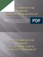 PLANEADOR DE IZAJE LTM1500