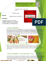 PPT ANALISIS DE MARKETING DE LA EMPRESA MOLITLIA S.A.C DEL RUBRO DE FIDEOS