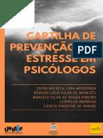 CAPA - Cartilha Estresse