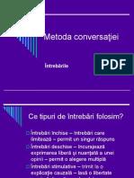 Metoda conversaţiei.ppt