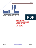 Manual de Usuario LD4-DUAL Ver 01-1-05 Rel 02
