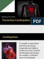 ODONTOLOGIA - PACIENTES CARDIOPATAS HIPERTENSÃO ARTERIAL