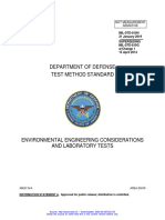 MIL-STD-810, Environmental Engineering Considerations and Laboratory Tests