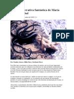 Sobre la narrativa fantástica de María Luisa Bombal