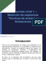 TÉCNICAS DE ENSAYO Y LIMITACIONES UTT