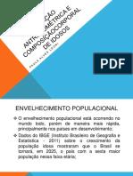 AVALIAÇÃO ANTROPOMÉTRICA E COMPOSIÇÃOCORPORAL DE IDOSOS