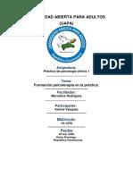 Práctica de psicología clínica 1 tarea 4