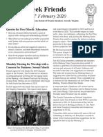 GC Newsletter February 2020