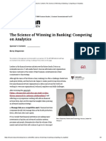 MITSloanManagementReview _ The Science of Winning in Banking_ Competing on Analytics