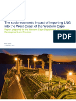 Socio-Economic impact of importing LNG into West Coast