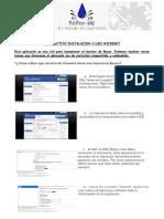 Instructivo instalacion y uso Wicreset
