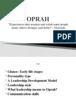 Oprah Presentation
