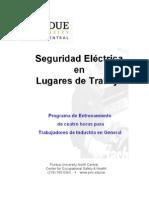 Electrical Safe SP Work Practices Four Hour Participant Manu