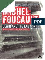 Foucault, Michel - Death and the Labyrinth (Continuum, 2004)