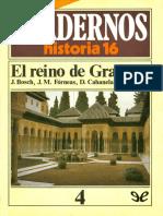 [Cuadernos Historia 16 04] AA. VV. - El reino de Granada [52742] (r1.0)