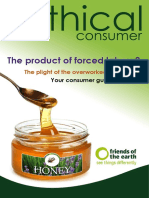 Ethical consumers guide to honey
