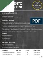 Orçamento Churrasco - Modelo pronto de orçamento para churrasco