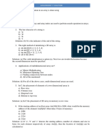 Assignment-7 Solution July 2019