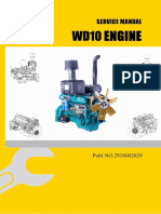 Service Manual for WD10 Diesel Engine