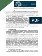 CARACTERIZAÇÃO DA ZEÓLITA SINTETIZADA DE CINZAS LEVES DA GASEIFICAÇÃO DO CARVÃO MINERAL DE CANDIOTA/RS