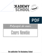 Cours_Newbie