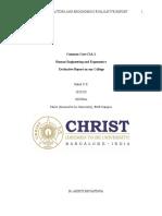 CC CIA I Evaluative Report