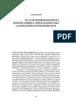 Revolución y Contrarrevolución en nuestra América:implicaciones para las relaciones interamericanas