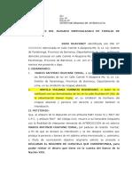 Huayanei mama de Yomira Demanda-Interdiccion-Civil