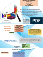 PROCESO DE RECOLECCIÓN Y ANÁLISIS DE DATOS  EN UNA INVESTIGACIÓN CON ENFOQUE CUANTITATIVO