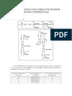 Engrenegens com cabeçote divisor divisão diferencial