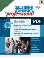 English Teaching Professional Magazine 77
