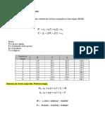 Estimación de un sistema identificado tarea